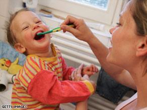 vaiku dantu gydyma
